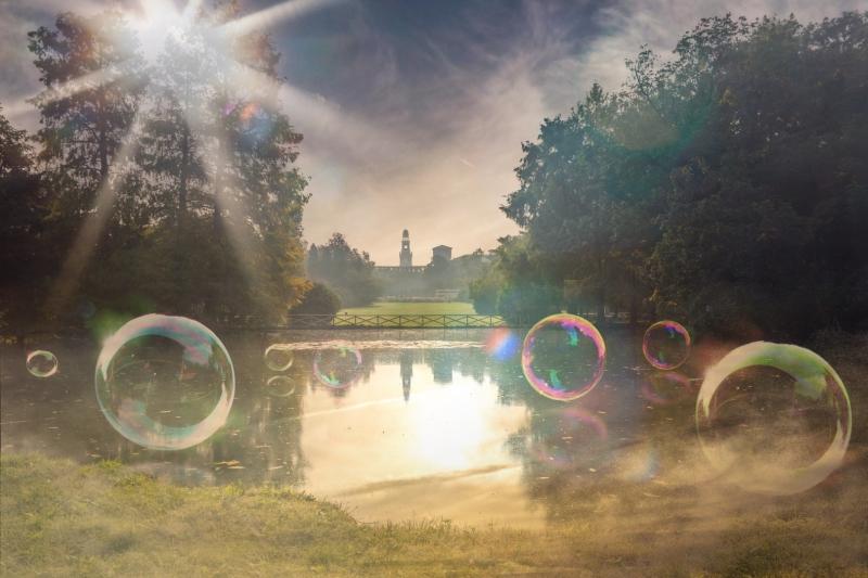 Bubbles 60X40