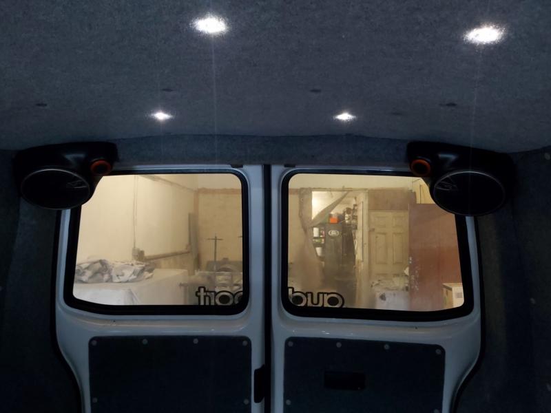 Transporter T5,T5.1,T6 rear speaker pods
