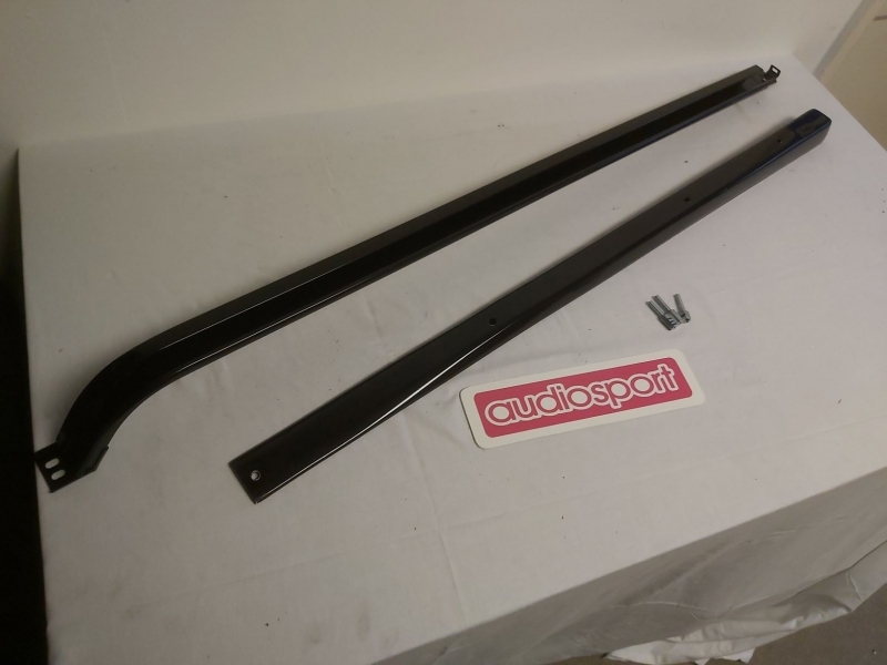 PACKAGE DEAL - Transporter T4 kick off wedge and black powder coated rail