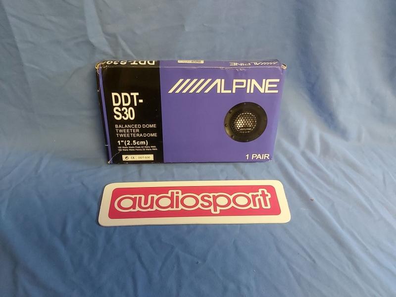 """Alpine DDT-s30 Tweeter set 25mm 1"""" pair"""