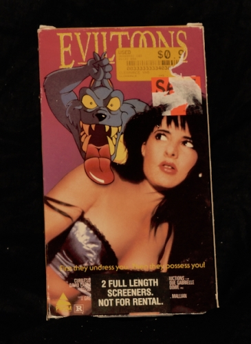 Evil Toons (1992) & Millions (1991) 2 Movies!
