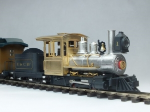 #0521 HOn30 Kit, Baldwin Locomotive Body Kit fits on Minitrains F&C Tender chassis