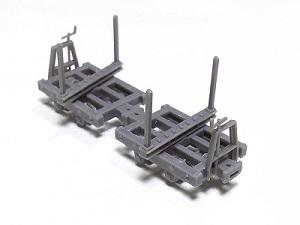#0611 HOn30 Kit, Wooden Log car Kit - Two Pair