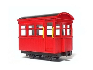 #0641 HOe Kit, Kiso Forest Railroad Passenger Car Type-C kit, Two Cars