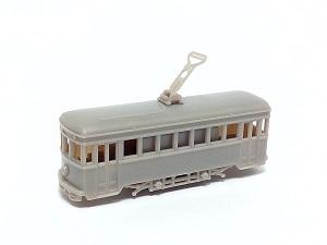 #0731 <SOLD OUT> N Kit, Four Wheel Tram Kit, Yokohama Tram Type 500