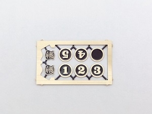 #5721 HOn Part, H.K.Porter Builders and Number Plates