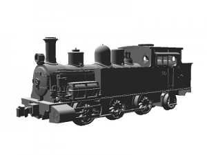 #0879 <SOLD OUT> N RTR, Dübs 0-6-2 Type 2100