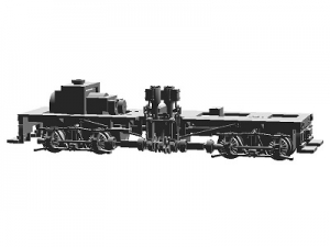 #1001 HOn30 13-ton Shay, chassis kit for T-boiler