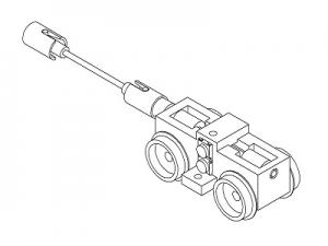 #1001C HOn30 13-ton Shay, Front drive unit parts set