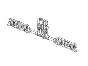 #6131 Line shaft parts set for HOn30 13-ton Shay