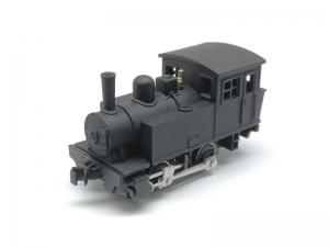 #1101 N gauge 3D Amemiya 0-4-0 steam locomotive kit, closed cab
