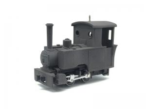 #1112 009 3D Bagnall side tanks Kit