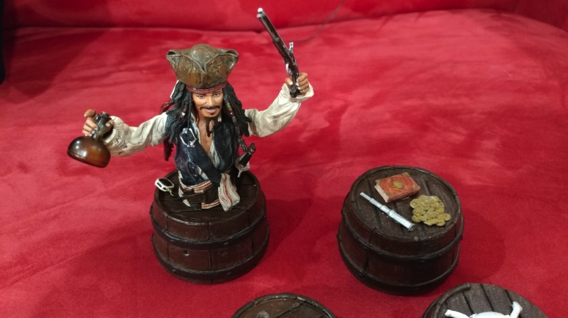 PoTC Spinning Pop Bumpers, Barrel & Character Upgrades - JJP Pirates of the Caribbean