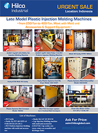 Late Model Plastic Injection Molding Machines
