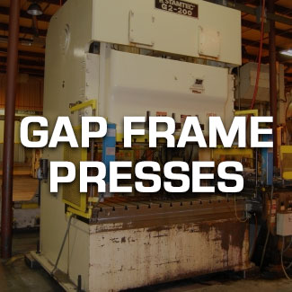 Gap Frame Presses
