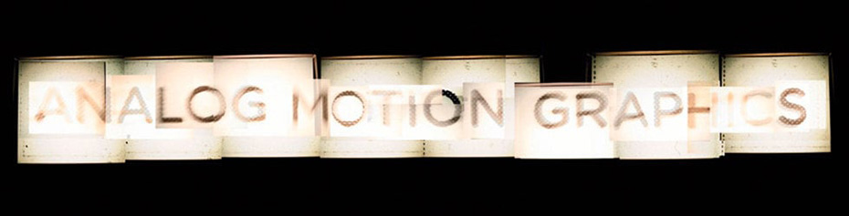 Vimeo Channels | Analog Motion Graphics