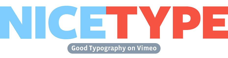 Vimeo Channels | Nice Type