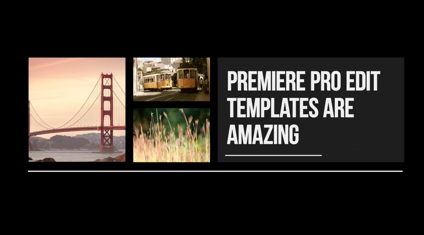 Working with edit templates motion array for Premiere pro templates free