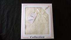 small box shawl cream colour is shown