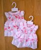 Girls cotton dress set 1049