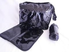 changing bag with mat, bottle holder, nappy bag M0203
