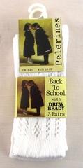 cotton school pellerine socks