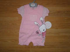 Baby romper with t-shirt 13051