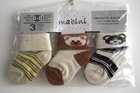 Socks - 3pk Headed Card-mabini