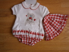 "baby romper ""doggy"""