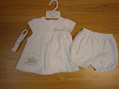 "White Girls Set-3piece 41 09 ""Princess"""