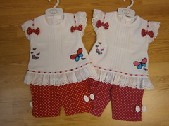Baby 2pc Set Leggings and t-shirt 