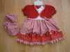 "Baby cardigan dress ""Butterflies"" 1187"