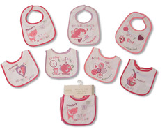 girls 7 day bibs bw-104-730