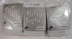 Nifty tights white dozen packing
