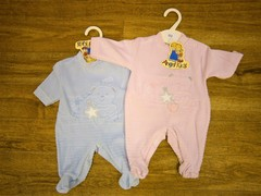 Star and Bear Embroidery Velour