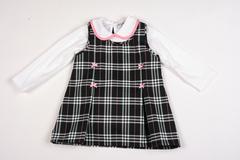 Black & Pink 2pcs Dress Set K3515