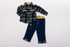 Jeans and Flanellete Shirt Set - Toddler Y3780