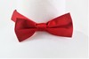 Bow Ties -Velcro - red