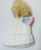 Furry Pom Pom Knitted Hat 486