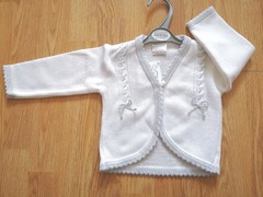 Silver Trim Knitted Cardigan 199
