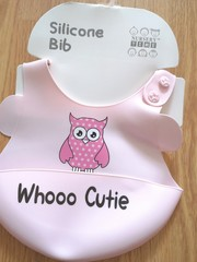Silicone Bibs - PINK