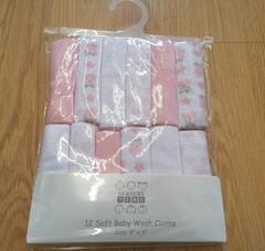 Washcloths/ Flannel 0950