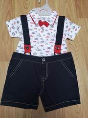 Sailor Shorts Set with Braces & Bow Tie 8488