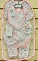 "7pc Mesh Hanging Gift set "" Little Princess """
