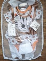 "7pc Mesh Hanging Gift set "" Little Tiger "" 8514"