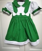 Green Dress with Ribbons PS01