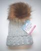 Fur Pom Pom hats H486