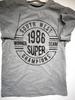 Grey ex-n---T-shirt