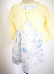 Woodland Print Dress with Bolero Jacket M14721