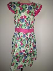 Jungle Print Dress with Bolero Jacket M14567